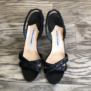 Manolo Blahnik sandals size 7.5